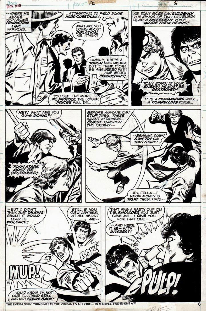 Iron Man #72 p 6 (1974)