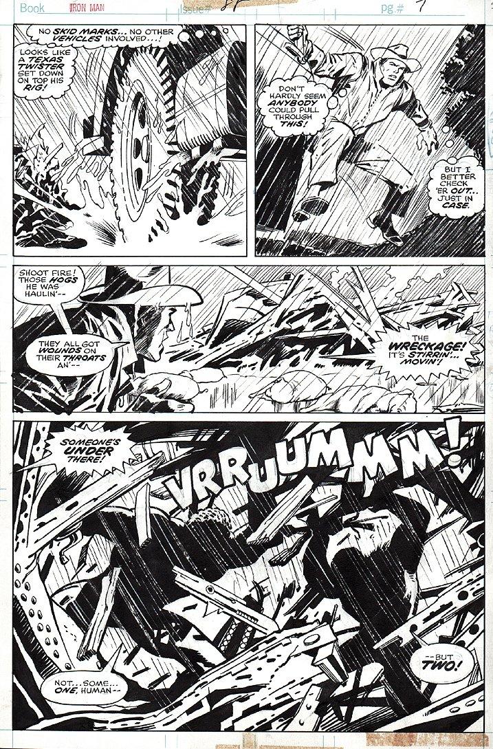 Iron Man #88 p 7 (1976)