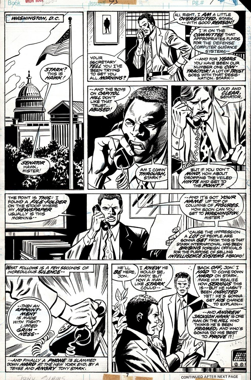 Iron Man #95 p 7 (1976)
