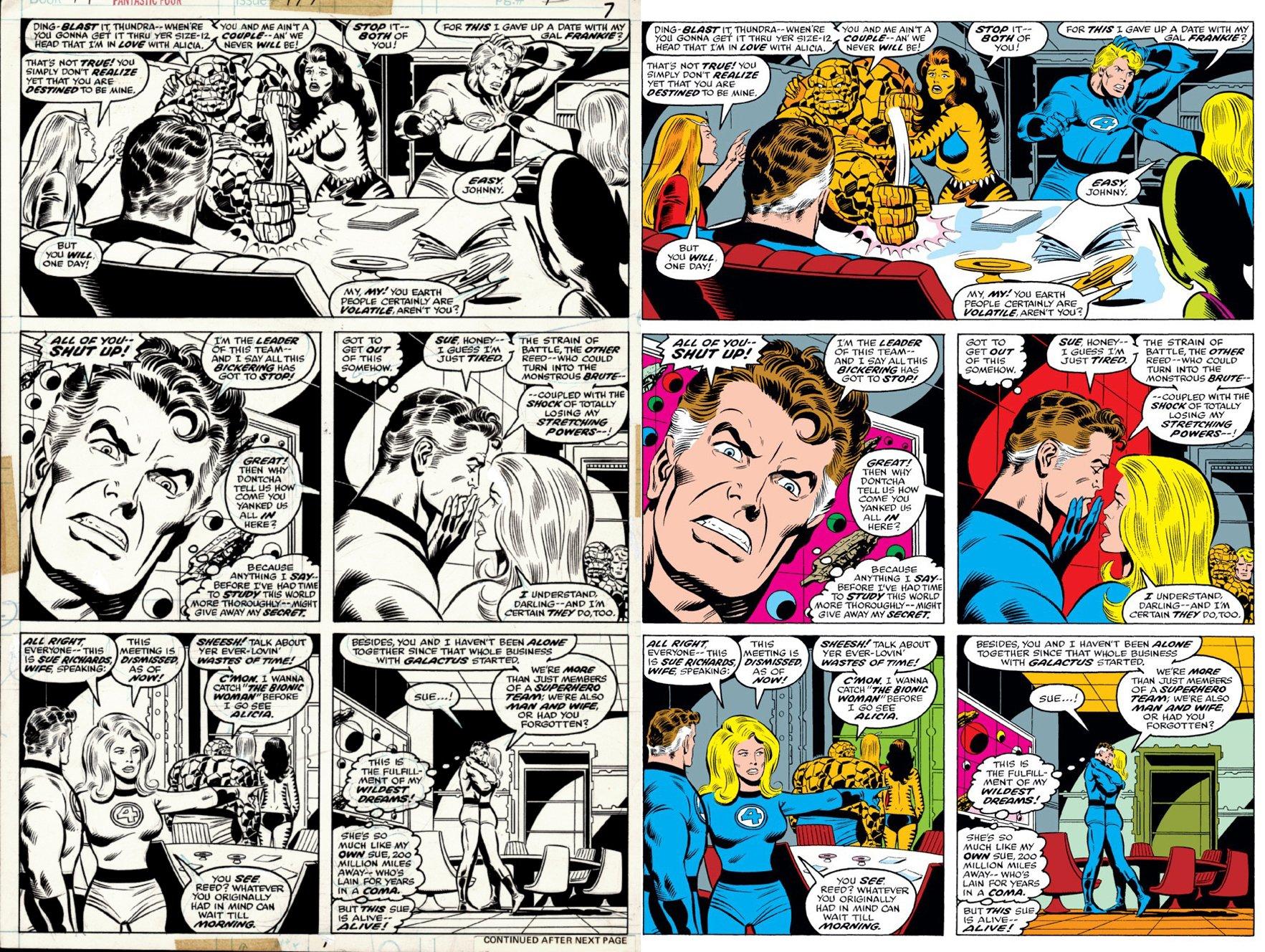 Fantastic Four #179 p 7 (SUPER KEY 1ST WILSON FF BOOK! IMPOSSIBLE MAN, TIGRA, THUNDRA, ENTIRE FF!) 1976