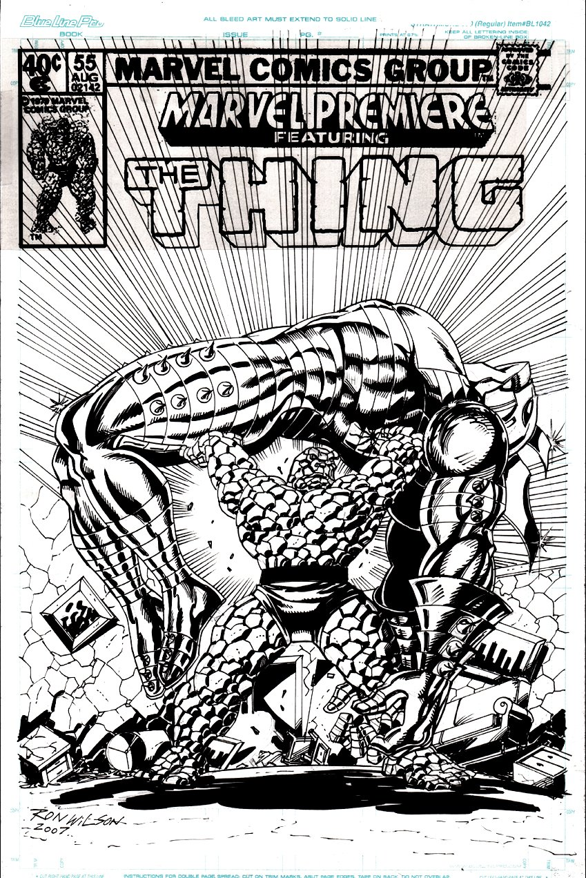 Marvel Premiere #55 Cover Recreation (2007)