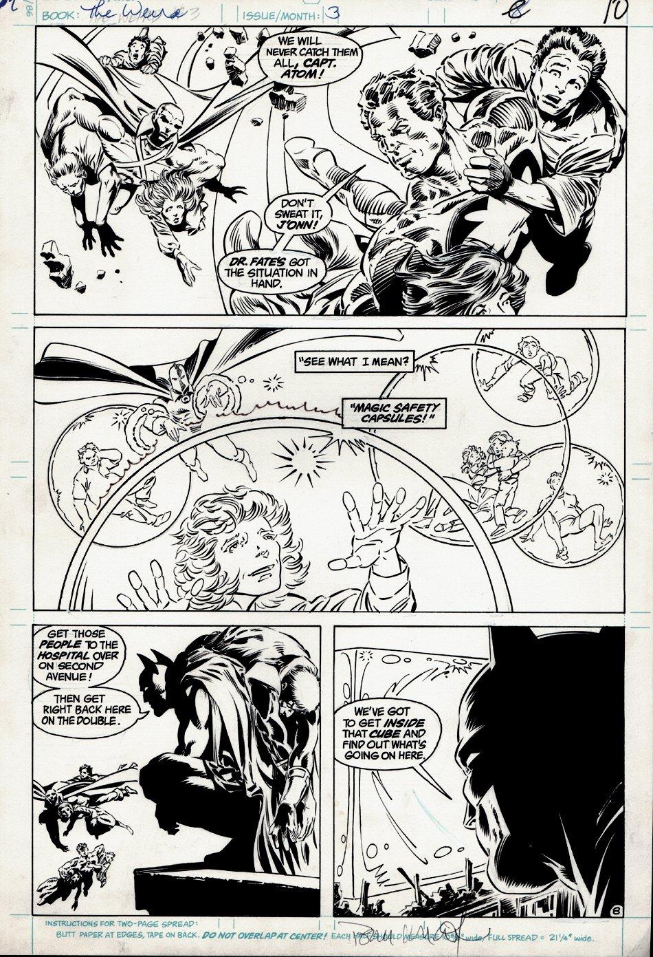 The Weird #3 p 8 (BATMAN) 1988