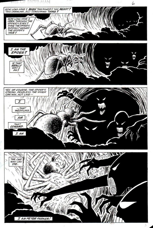 Web of Spider-Man #32 p 5 (KRAVENS LAST HUNT STORYLINE!) 1986