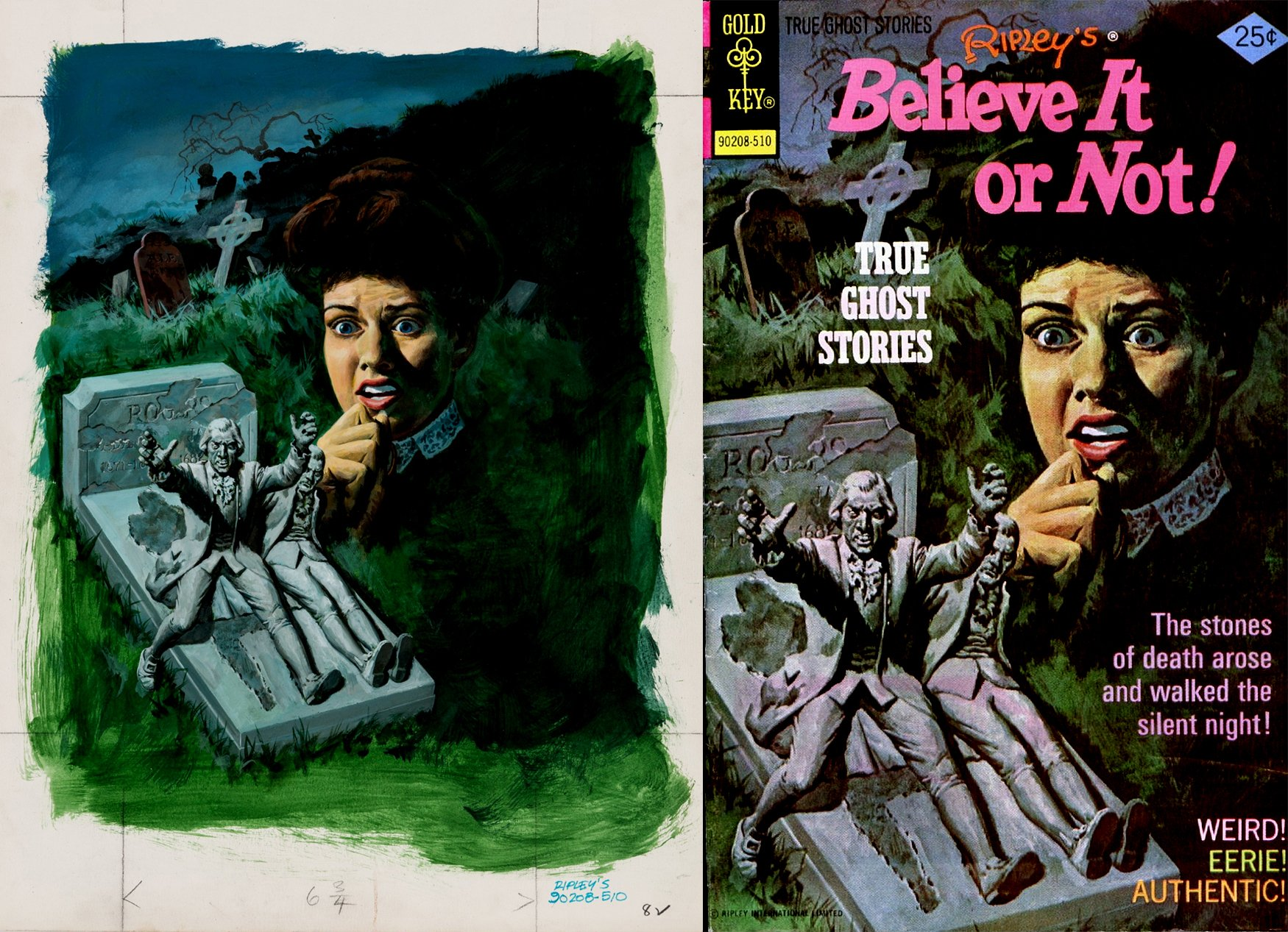 Ripley's Believe It Or Not! #58 Cover Painting