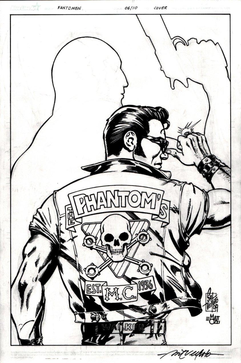 Fantomen #7 Cover (Johnny Hotwire!) 2010