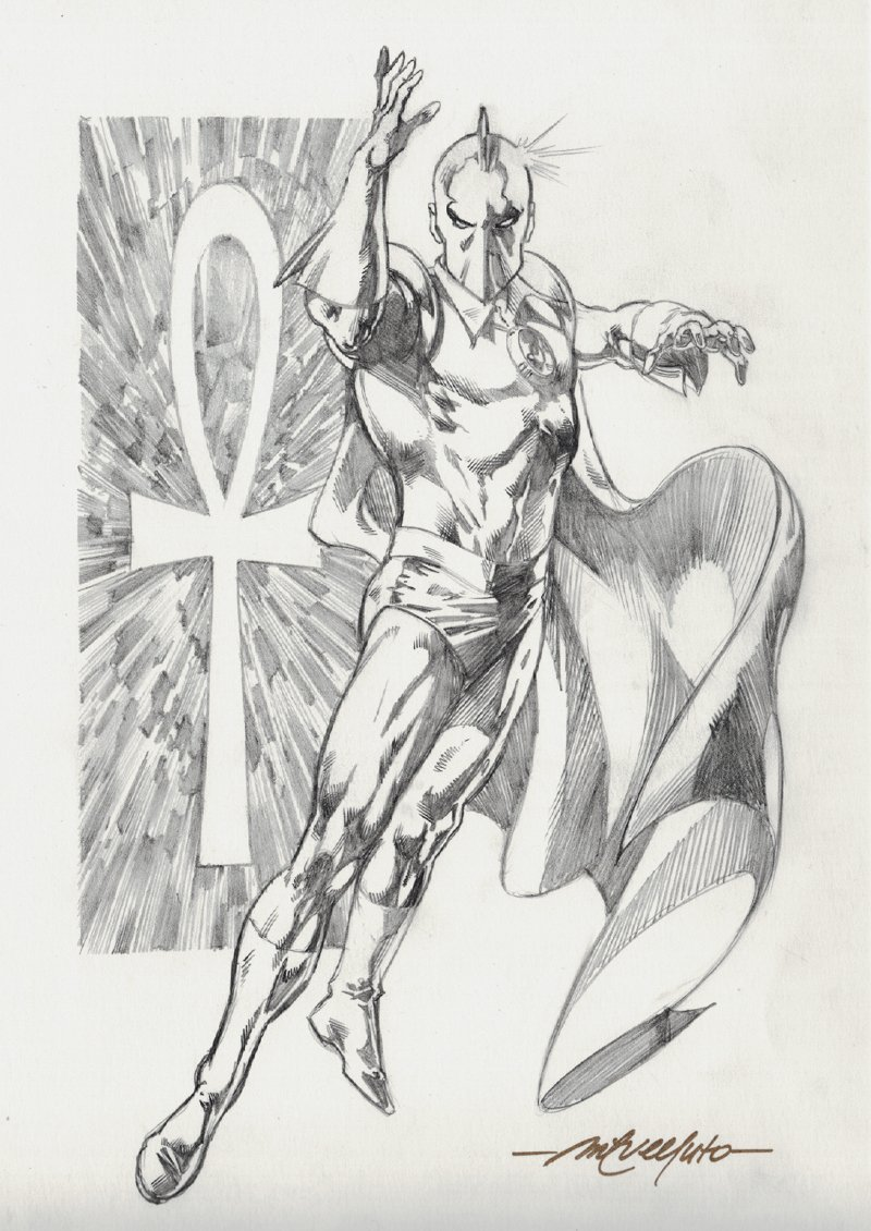 Dr. Fate Pinup