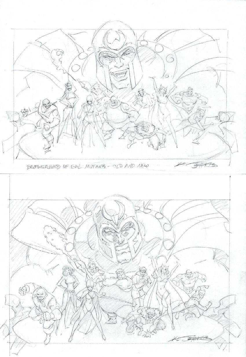 2 Magneto (With 10) Brotherhood Of Evil Mutants Prelims - 2013