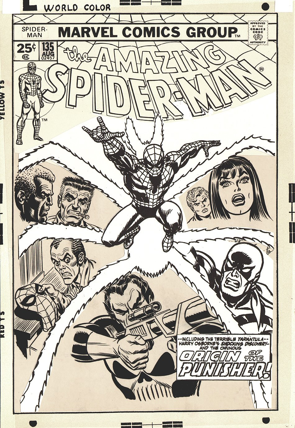 Amazing Spider-Man 135 Cover SOLD SOLD SOLD!