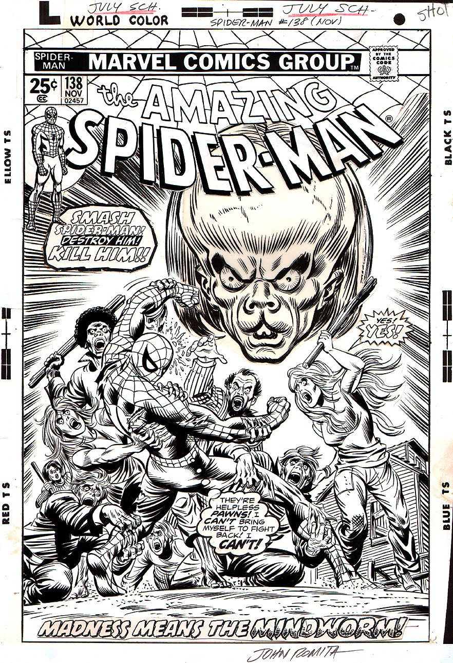 Amazing Spider-Man 138 Cover  SOLD SOLD SOLD!