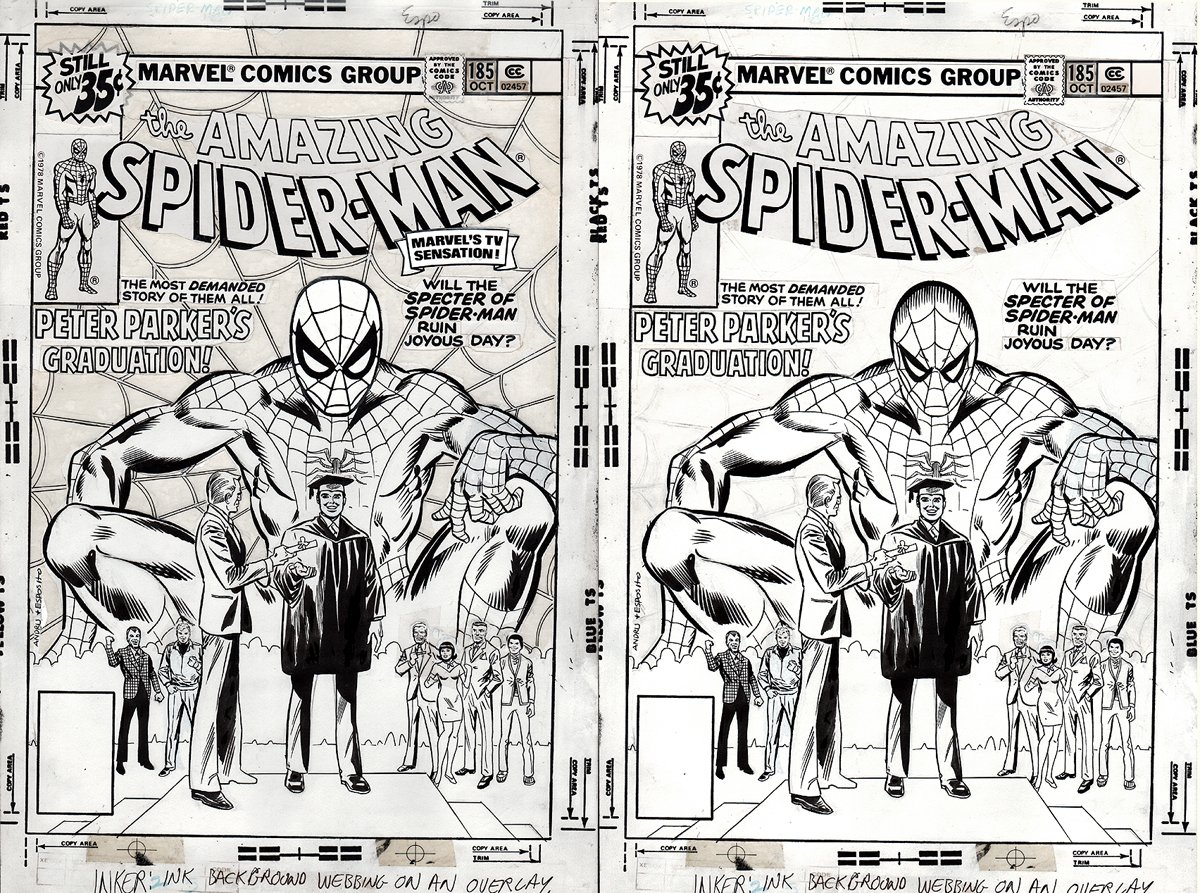 Amazing Spider-Man #185 Cover (1978) SOLD SOLD SOLD!