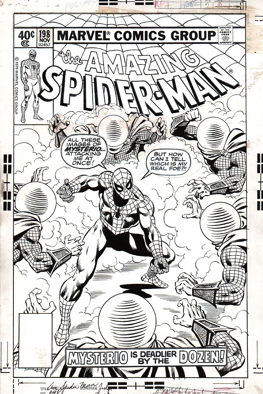 Amazing Spider-Man 198 Cover SOLD SOLD SOLD!