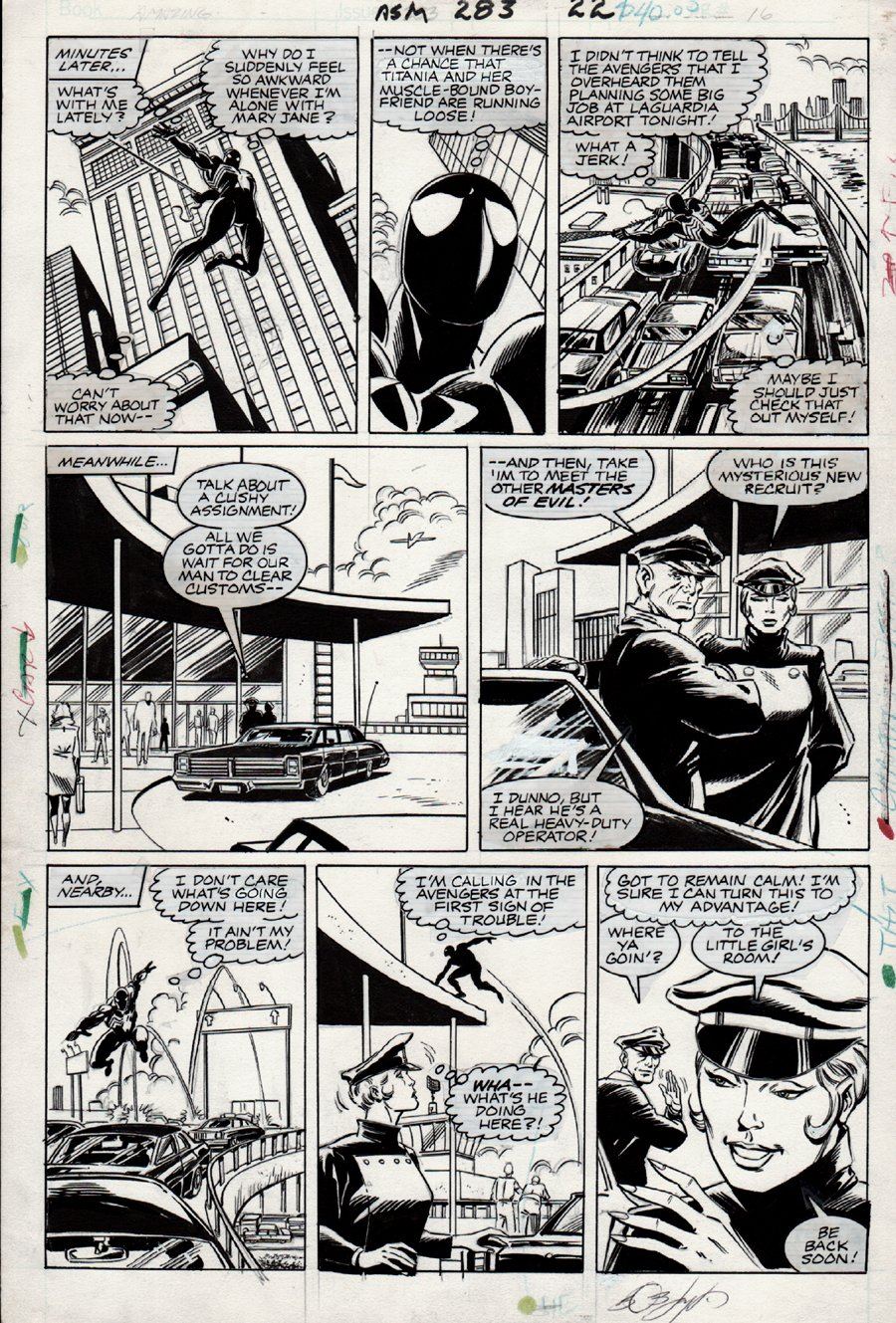 Amazing Spider-Man #283 p 16 (1983) SOLD SOLD SOLD!