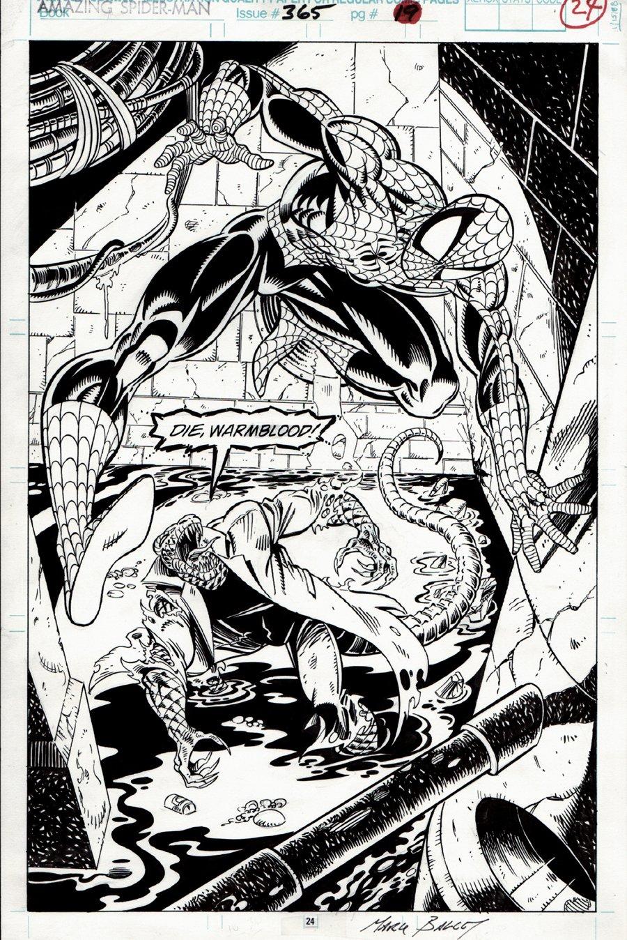 Amazing Spider-Man #365 p 24 SPLASH (1992) SOLD SOLD SOLD!