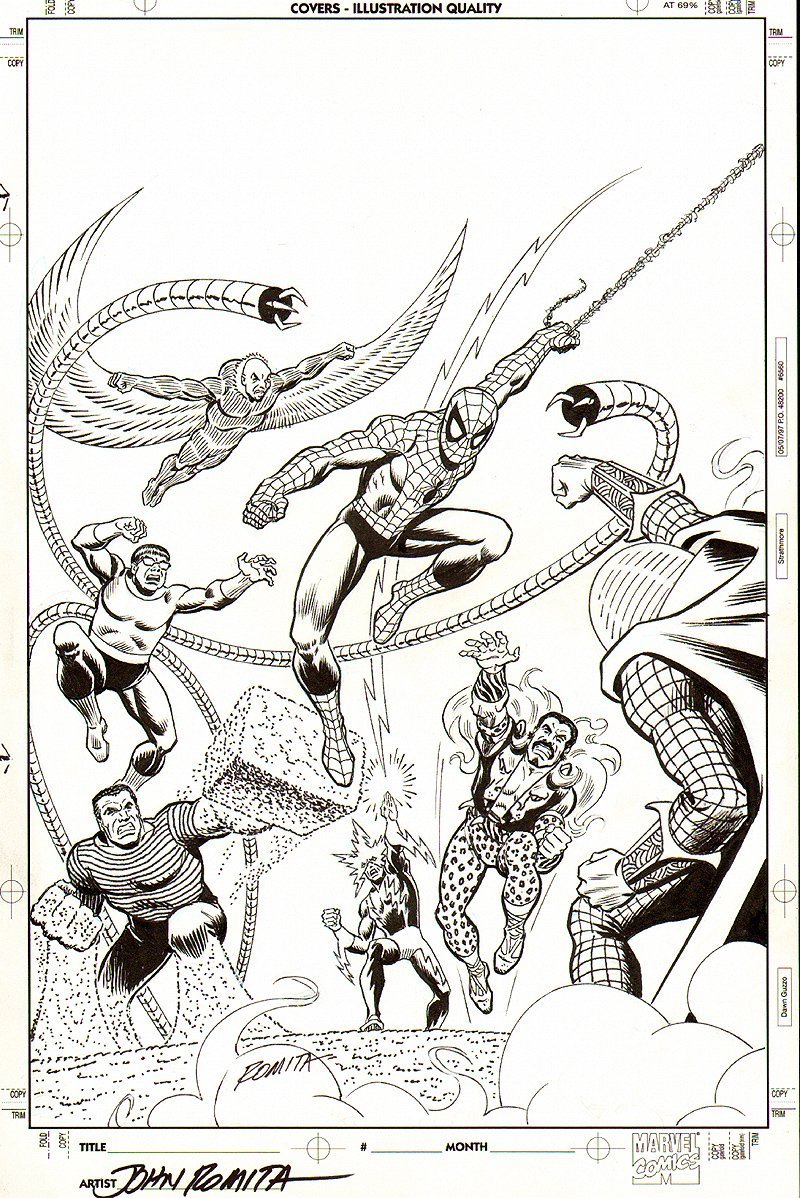 Amazing Spider-Man 642 Cover SOLD SOLD SOLD!