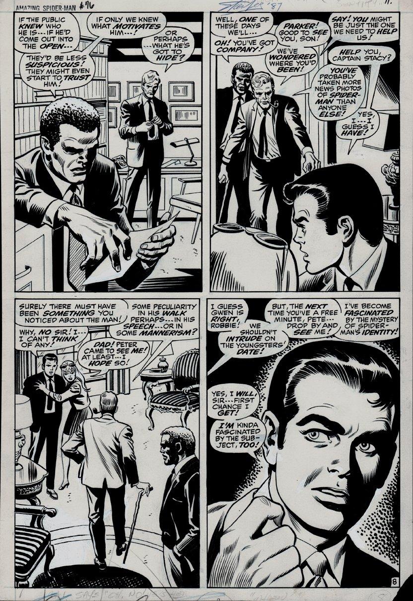 Amazing Spider-Man #76 p 8 (1969)