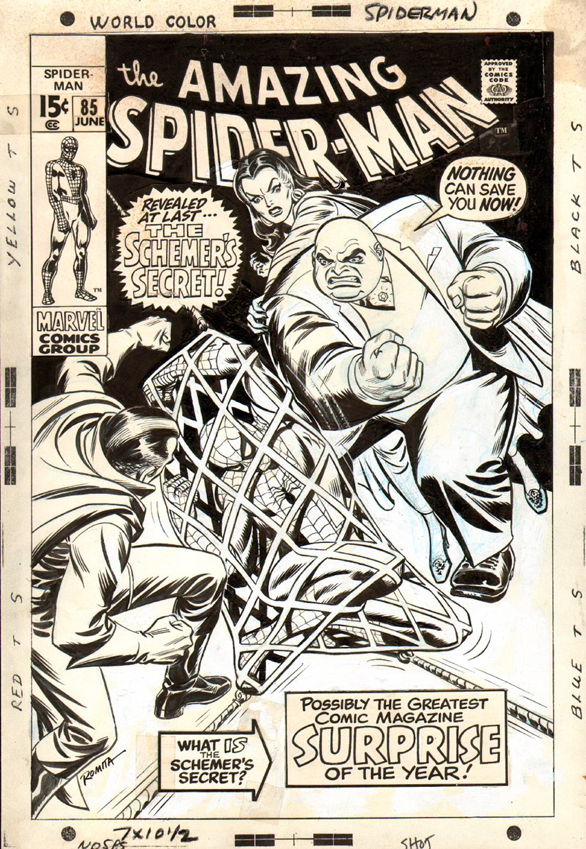 Amazing Spider-Man #85 Cover SOLD SOLD SOLD!!!