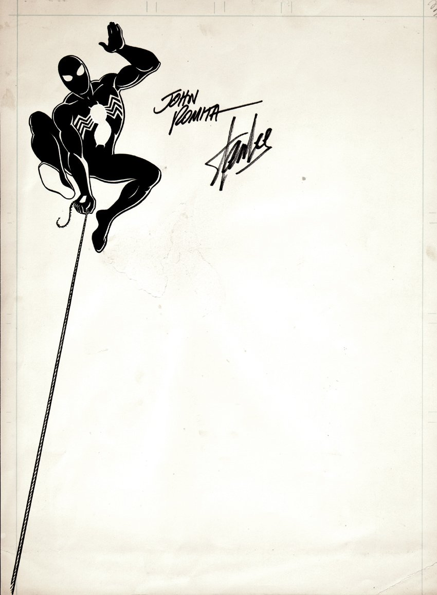 Spider-Man Marvel Stationary Artwork (1980s) SOLD SOLD SOLD!