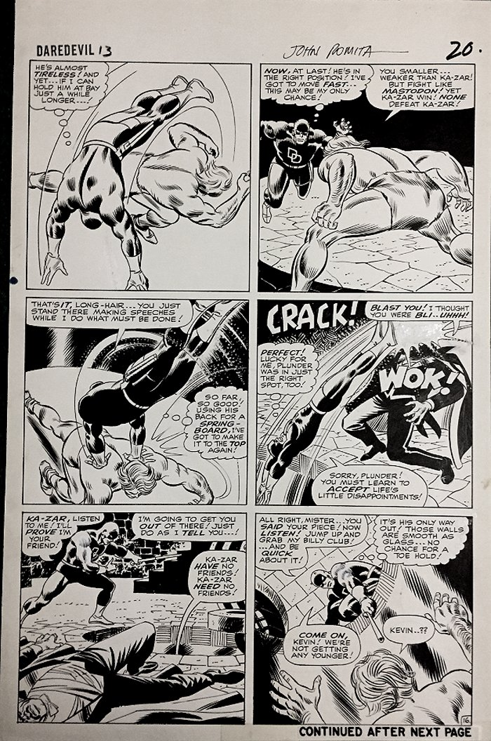 Daredevil #13 p 16 (Large Art) 1965