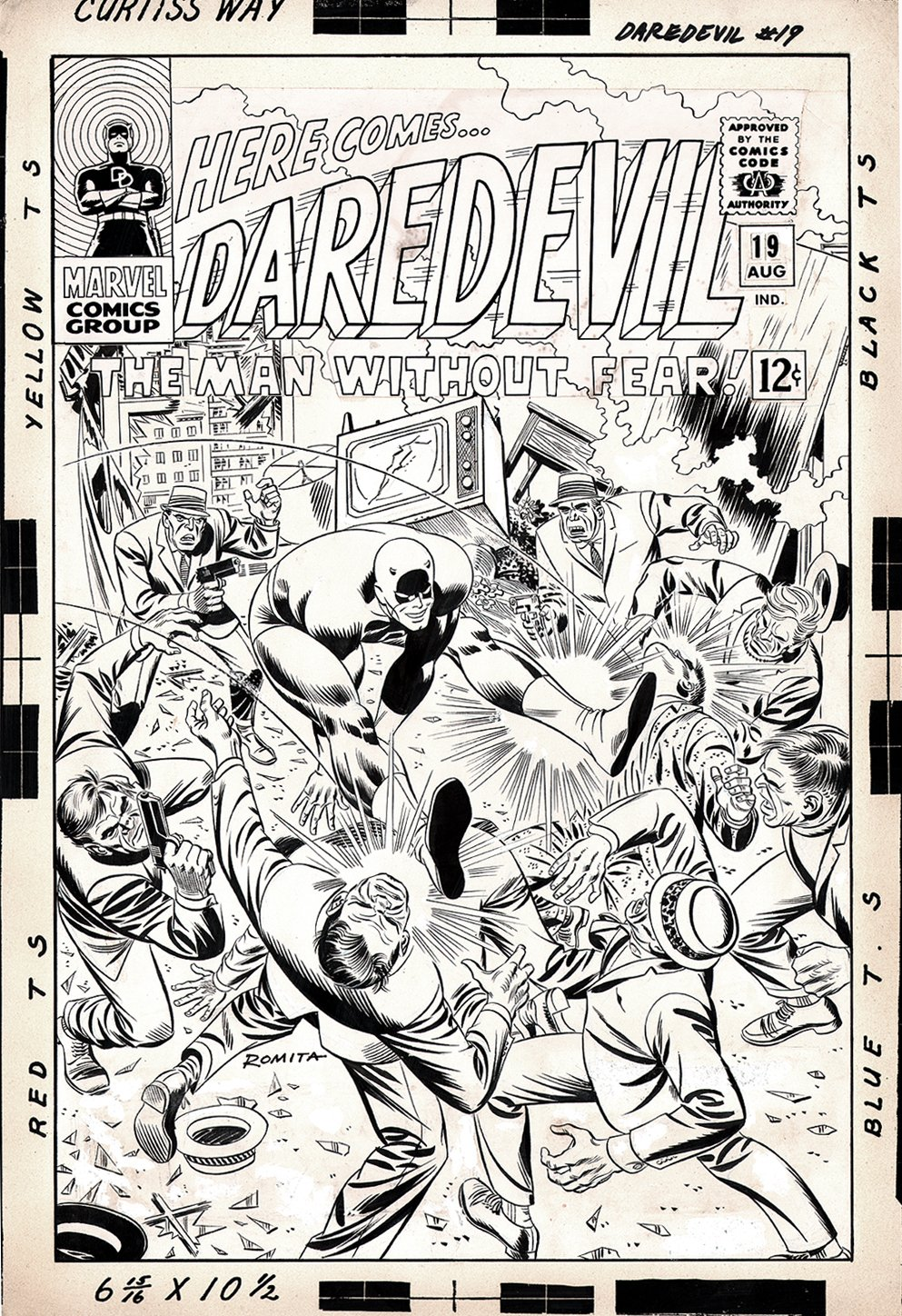 Daredevil SOLD SOLD SOLD!