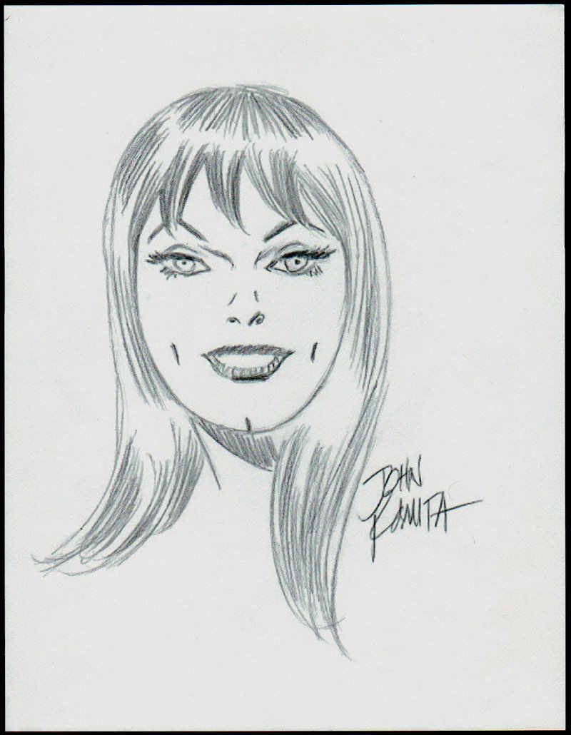 Mary Jane Drawing (1990s)