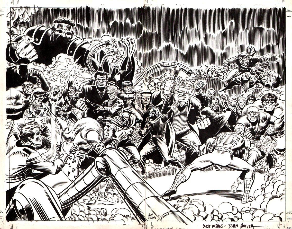 Amazing Spider-Man Index #4 Wraparound Double Cover (1985)