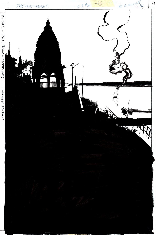 The Invisibles #8 p 14 SPLASH (1999)