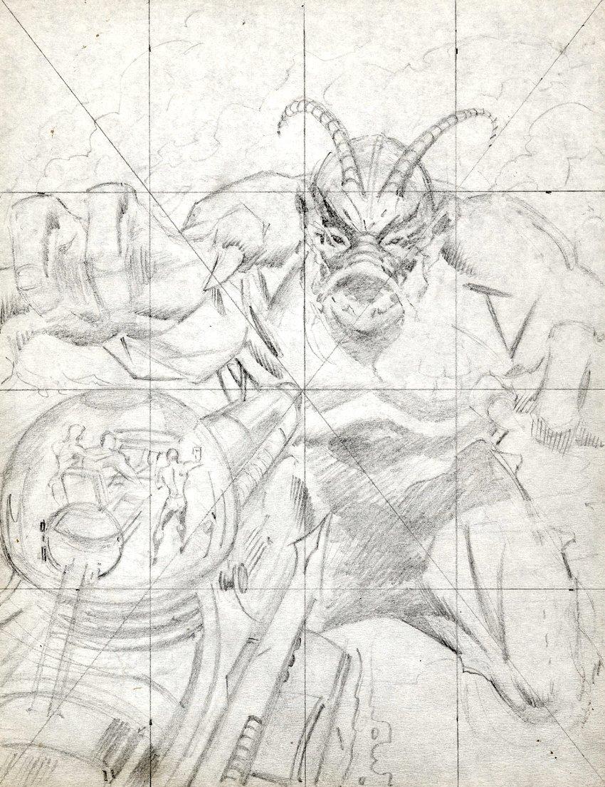 Sea Devils #31 Cover Prelim & 1-OF-A-Kind Glossy Cover Printer's Proof (1966)