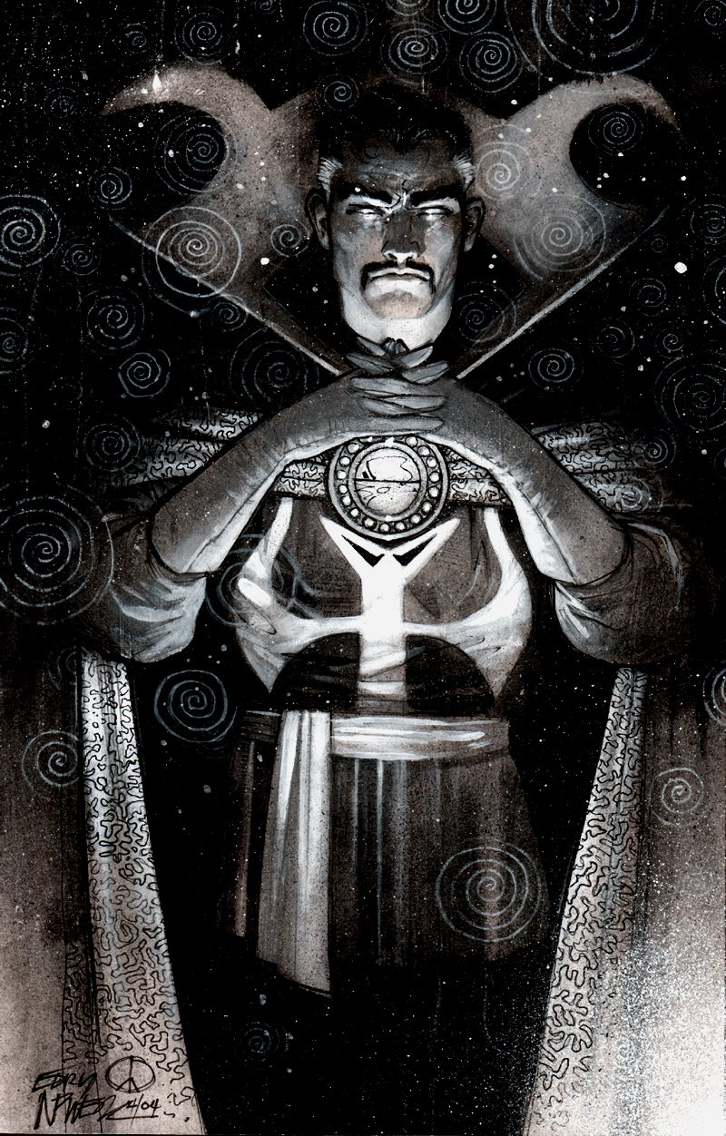 Doctor Strange Washtone Pinup