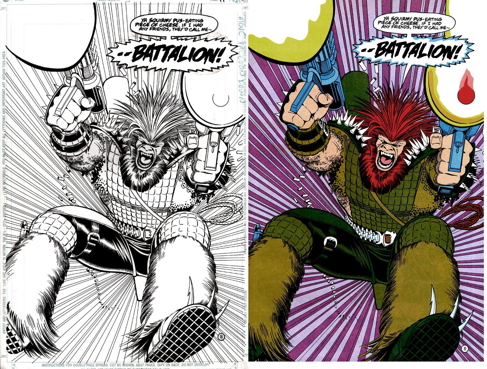 Team Titans #3 p11 SPLASH (BATTALION!) 1992