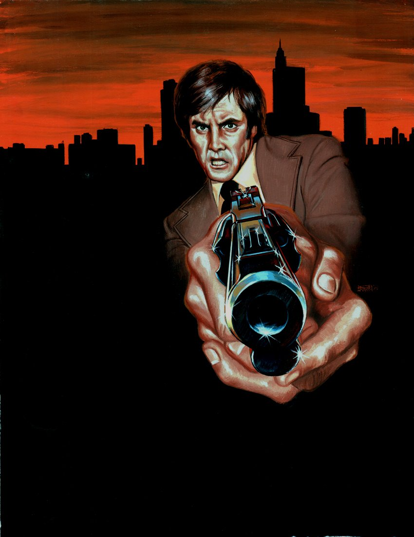'Night Of The Phoenix' Published Cover Painting (1975)