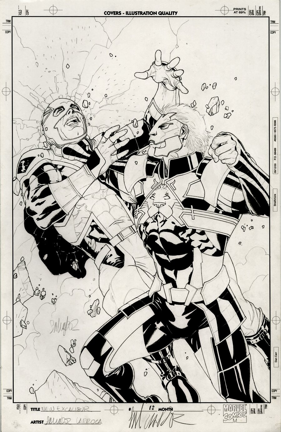 New Excalibur #18 Cover (2007)