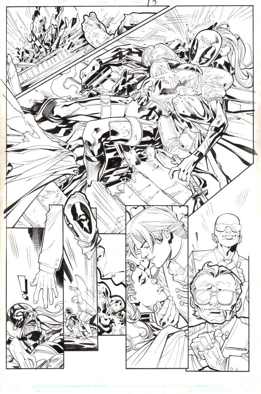 Lady Deadpool #1 p 13