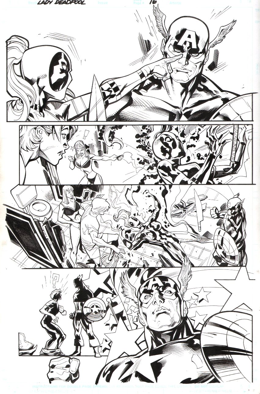 Lady Deadpool #1 p 16