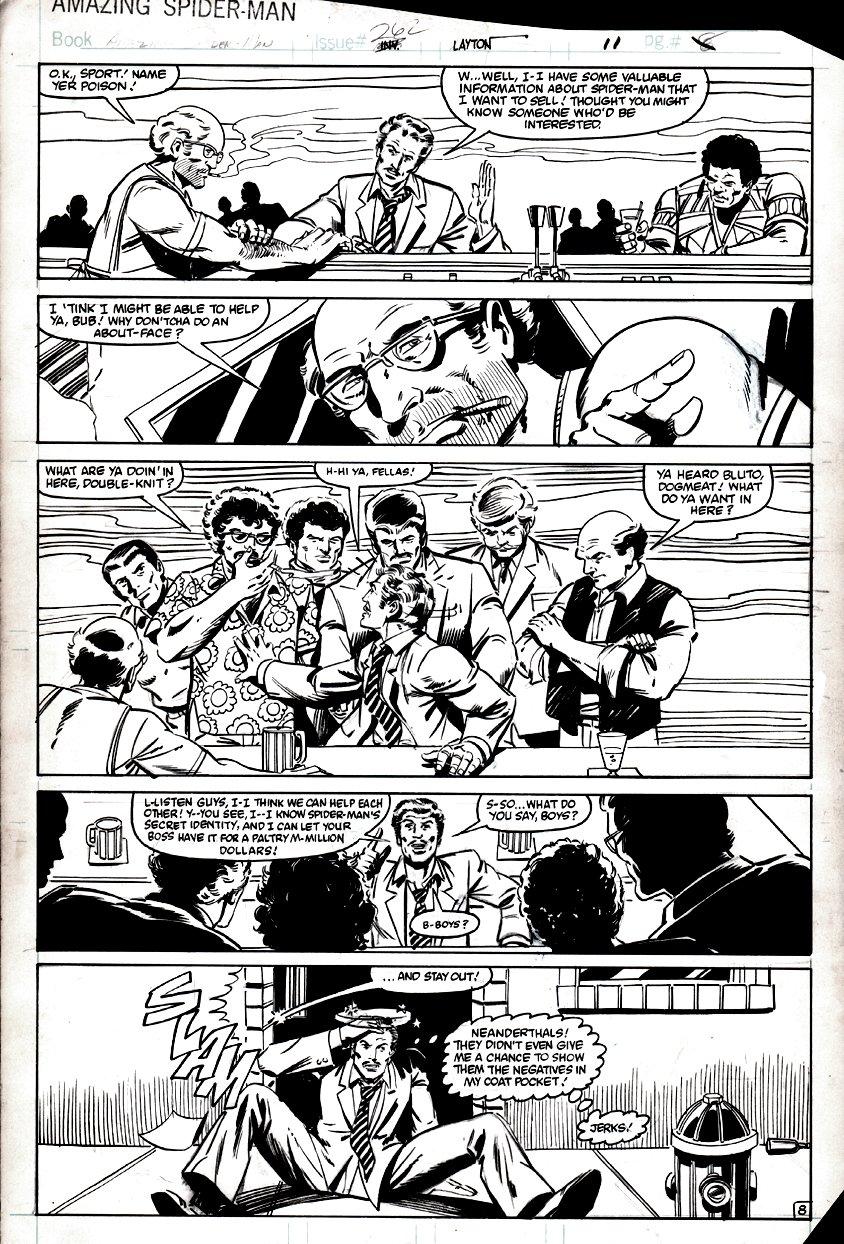 Amazing Spider-Man #262 p 8 (1984)