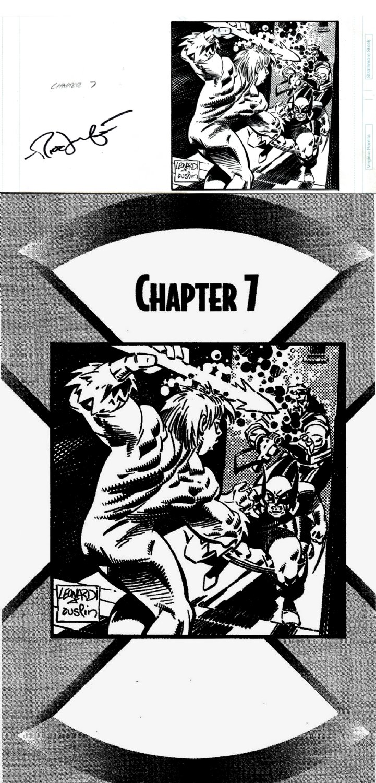 X-Men: Mutant Empire Chap 7 Splash ( WOLVERINE, BISHOP, MARAUDER BATTLE!) 1996