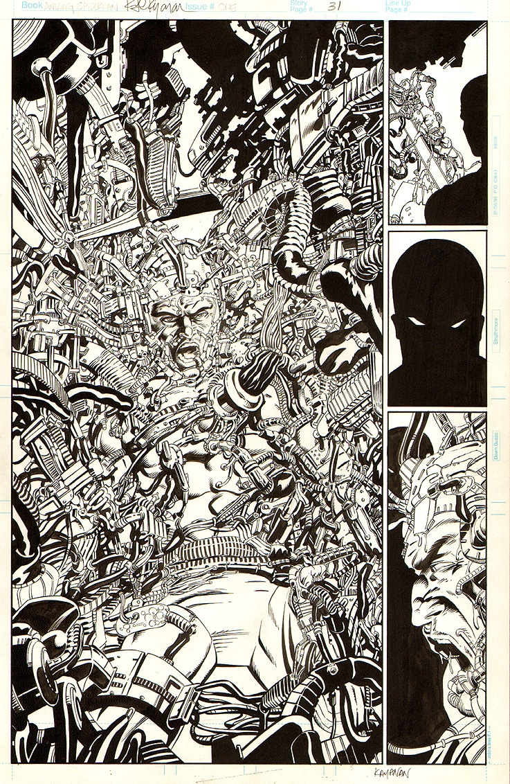 Amazing Spider-Man 1998 #1 p 31 SPLASH