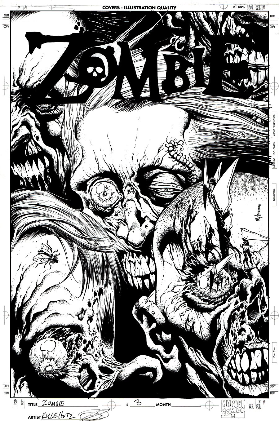 Zombie #2 Cover (2006)