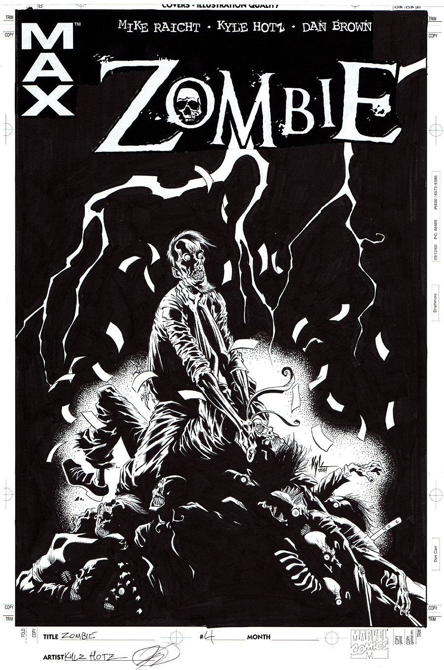 Zombie #4 Cover (2006)