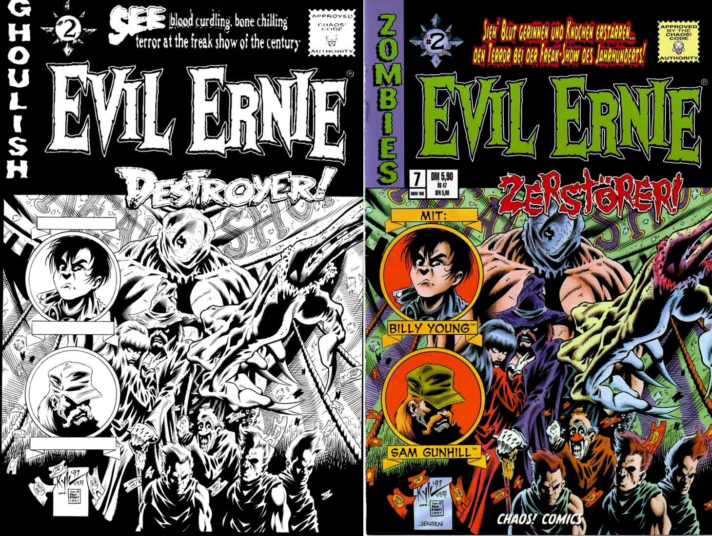 Evil Ernie #2 Back Cover (1997)