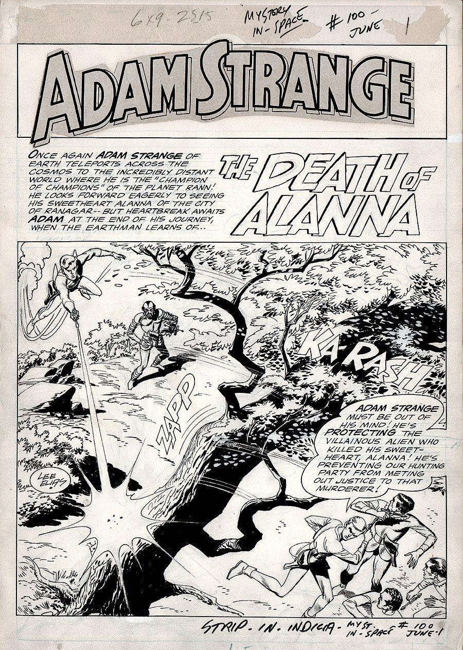 Mystery in Space #100 p 1 SPLASH (1964)