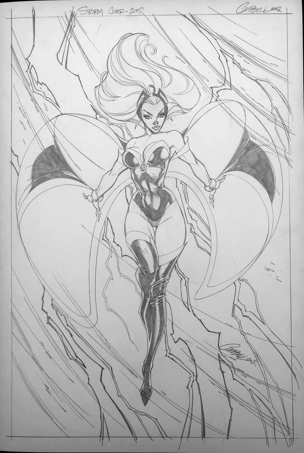 X-Men Worlds Apart #1 Cover (2008)