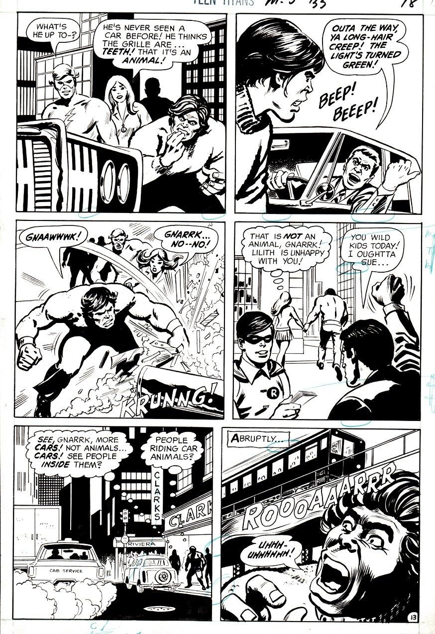 Teen Titans #33 p 13 (1970)