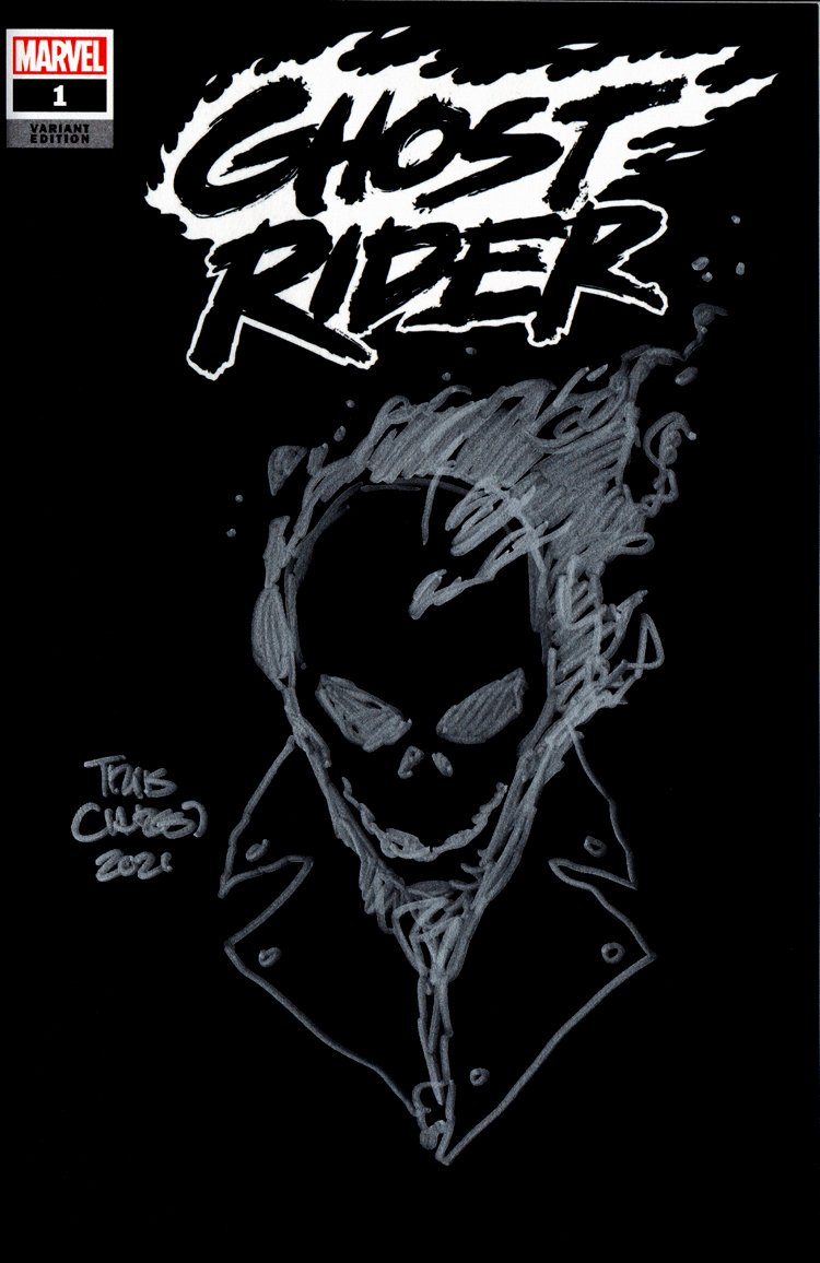 Ghost Rider #1 Sketch Cover