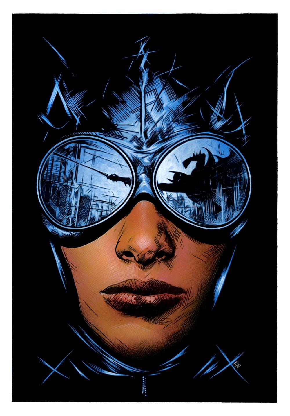 Batman / Catwoman #3 Cover Painting (Large Art) 2020
