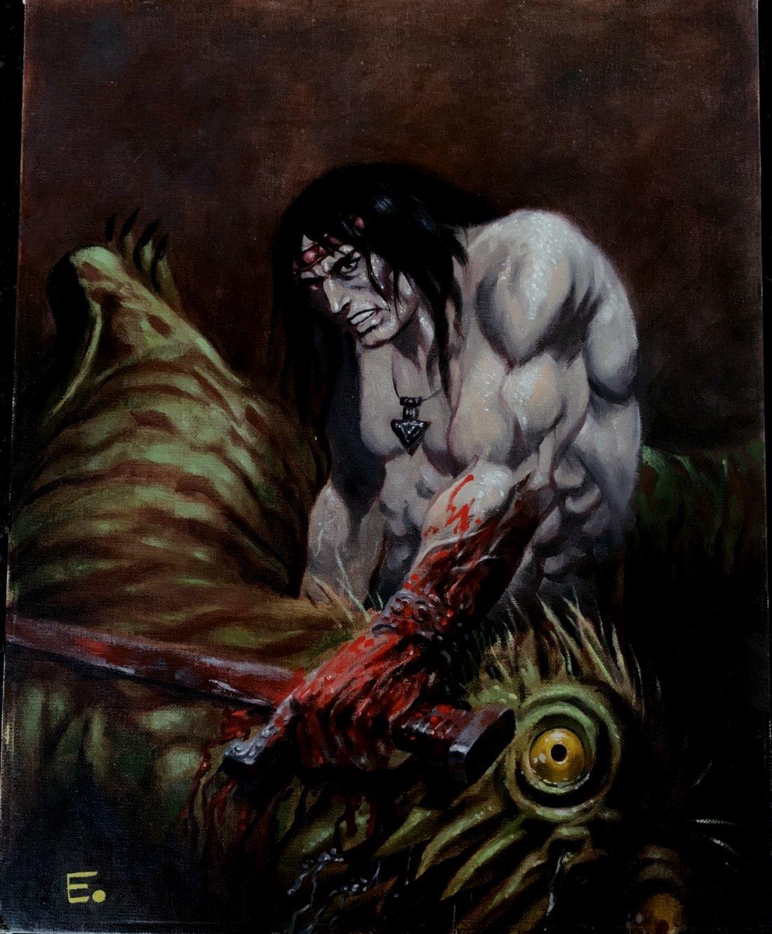 Arak / Son of Thunder Large Painting