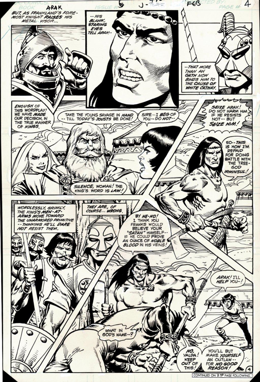 Arak / Son of Thunder #6 p 4 (ARAK Throughout!) 1981