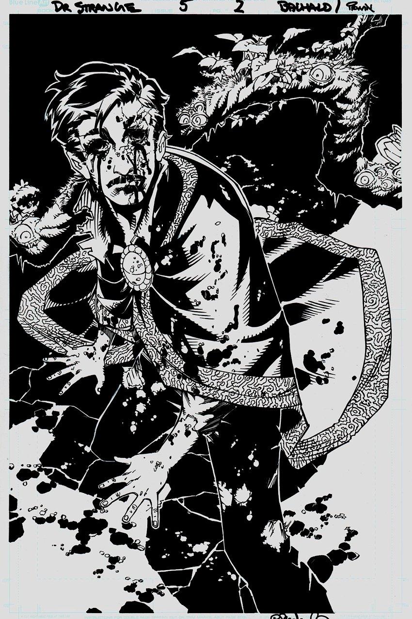 Doctor Strange #5 p 2 SPLASH (2015)