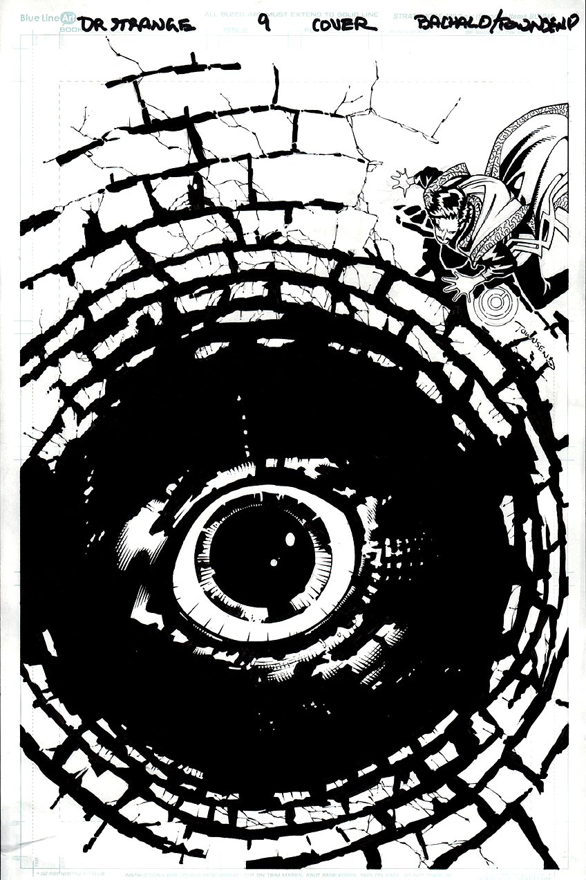 Doctor Strange #9 Cover (THE WELL THAT LOOKS LIKE AN EYE!)  2016