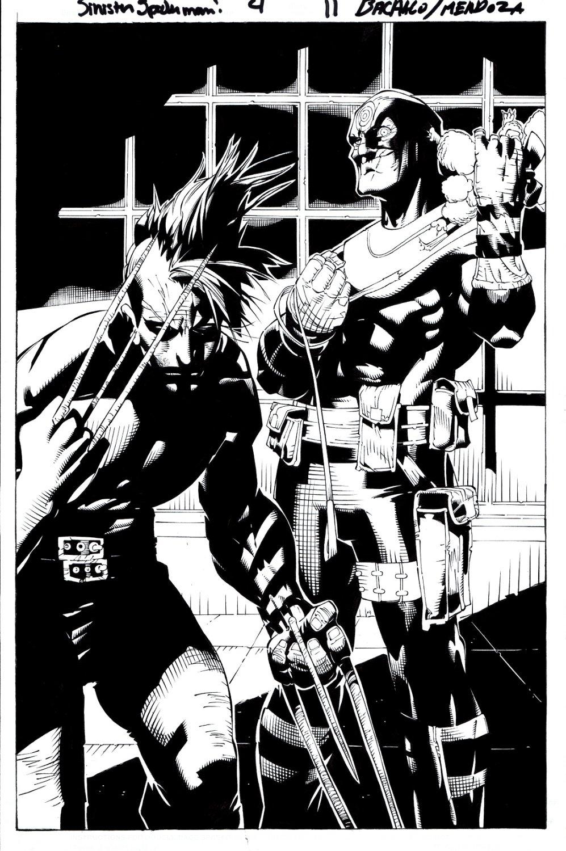 Dark Reign: Sinister Spider-Man #4 p 11 SPLASH (Bullseye & Daken!) 2009