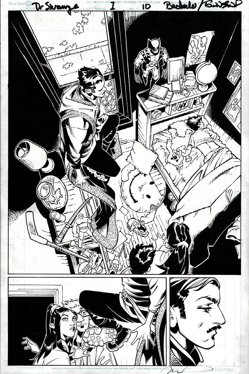 Doctor Strange #1 p 10 SPLASH (2015)